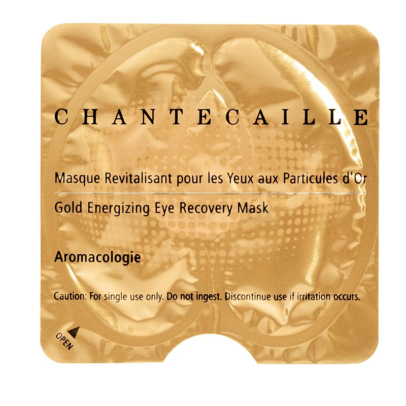 Chantecaille Gold Energizing Eye Recovery Mask 8 pairs individual packet