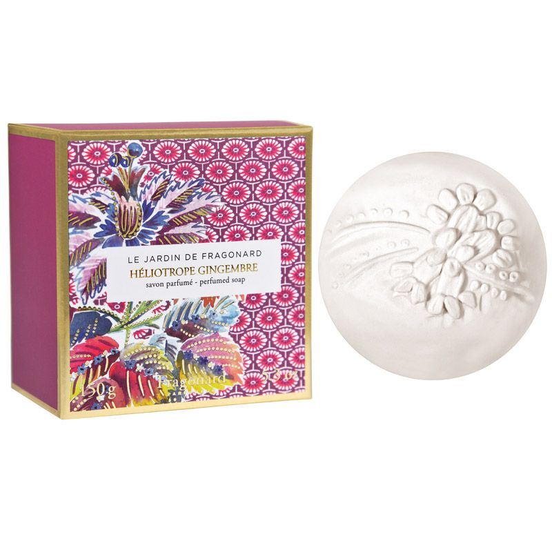 Fragonard Parfumeur Heliotrope Gingembre Perfumed Soap (150 g) with box