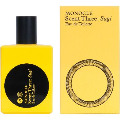 Comme des Garcons Monocle Series Scent Three Sugi Eau de Toilette (50 ml) with box