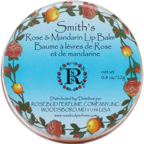Lip Balm Tin - Rose & Mandarin