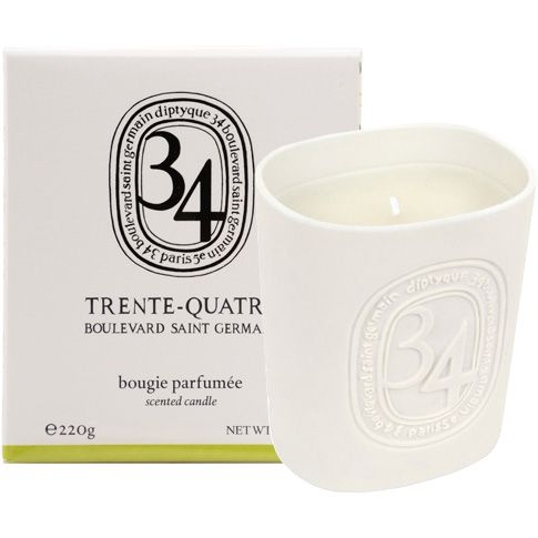 Diptyque 34 Boulevard Saint Germain Candle (220 g) with box