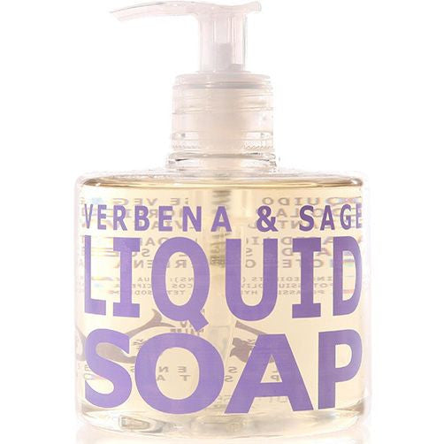 Eau d'Italie Liquid Soap Verbena & Sage (300 ml)