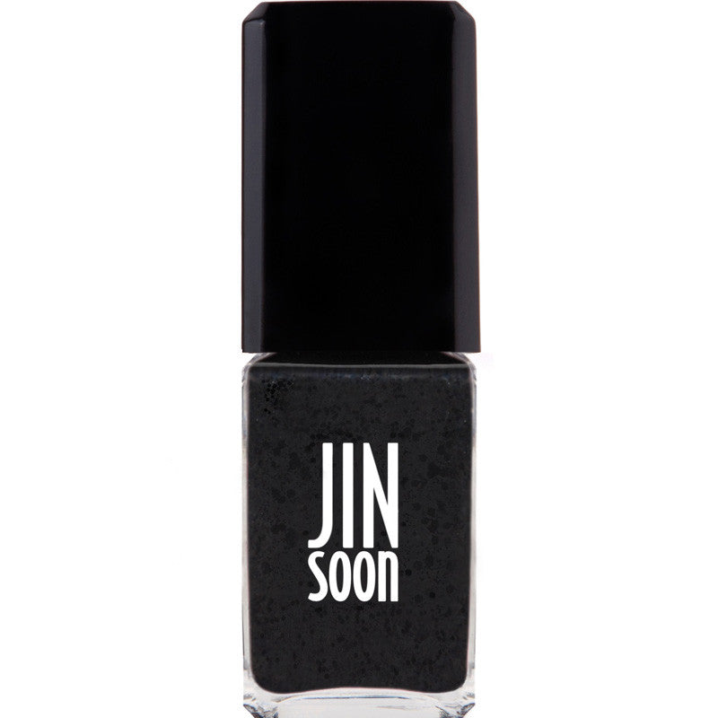 JINsoon Nail Lacquer - Polka Black (11 ml)