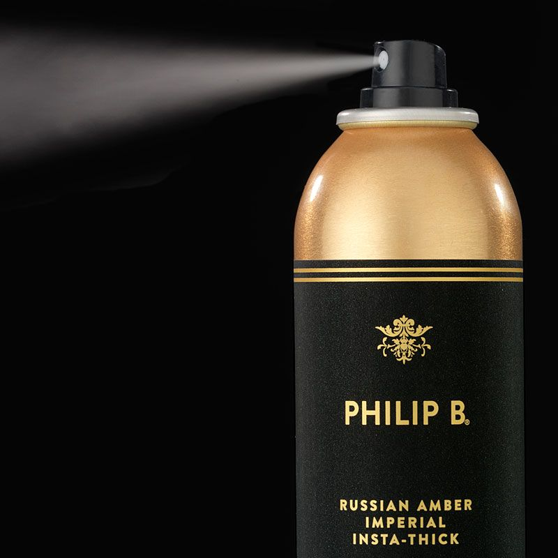 Philip B. Russian Amber Imperial INSTA-THICK Hair Thickening Spray swatch