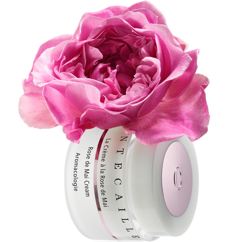 Chantecaille Rose de Mai Cream (50 ml) with rose