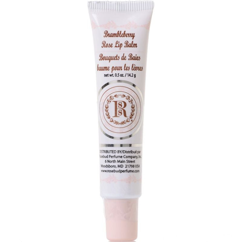 Rosebud Perfume Co. Brambleberry Rose Lip Balm - 14.2 g Tube