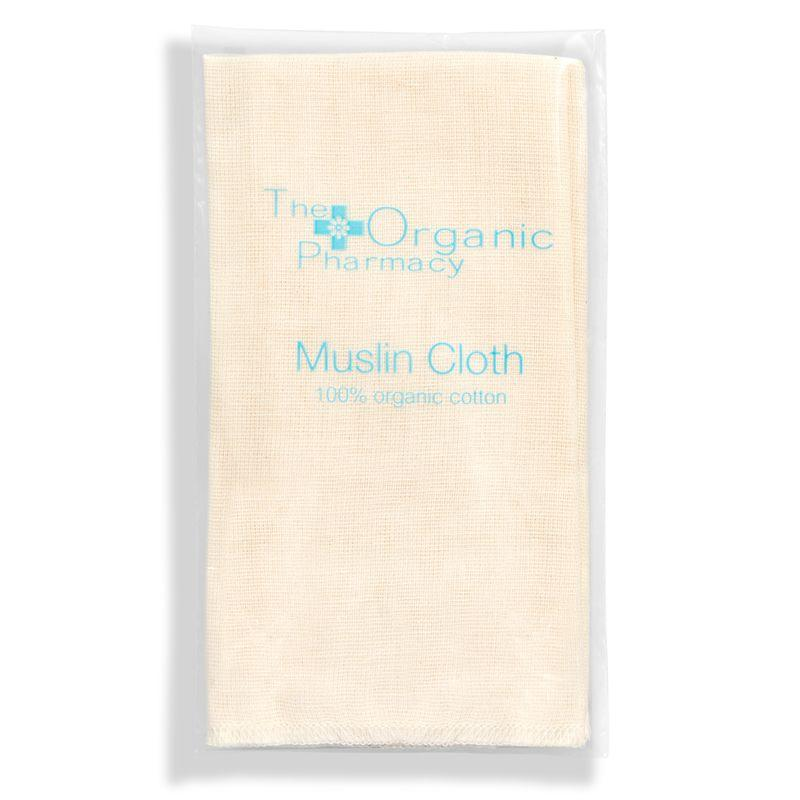 The Organic Pharmacy Organic Muslin Cloth in package