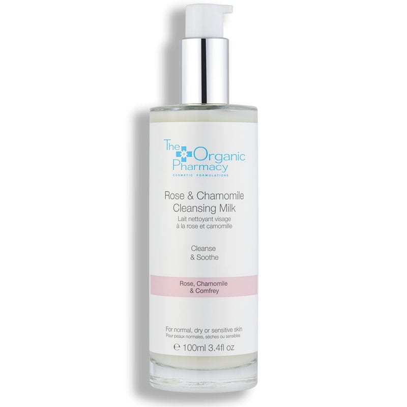 The Organic Pharmacy Rose & Chamomile Cleansing Milk 100 ml