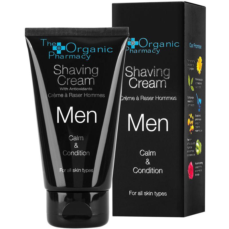 The Organic Pharmacy Men Shaving Cream with box