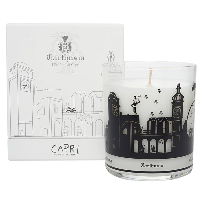 Carthusia Capri Forget Me Not Candle (260 g) with box