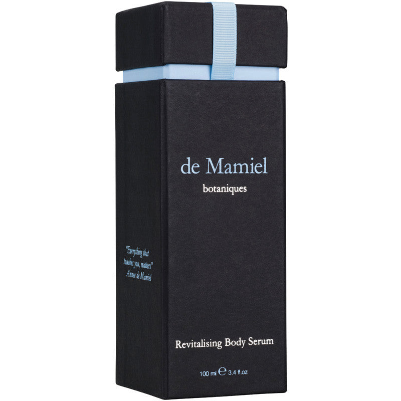de Mamiel Revitalising Body Serum box