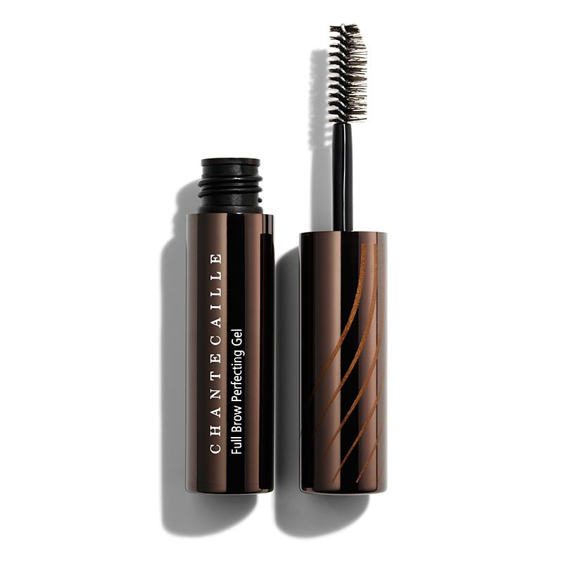 Chantecaille Full Brow Perfecting Gel 5.5 ml tube and brush side by side