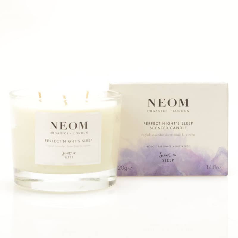 NEOM Organics Tranquility Candle / Perfect Night's Sleep Scent to Sleep Candle (420 g)