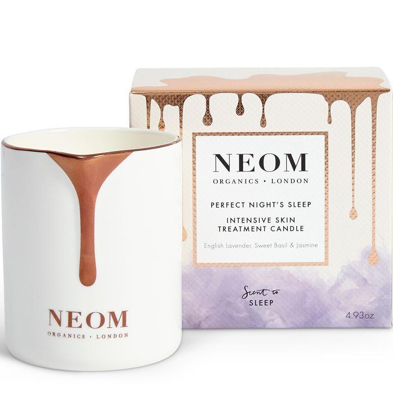 NEOM Skin Treatment Candle - Perfect Night's Sleep  (140 g) with box