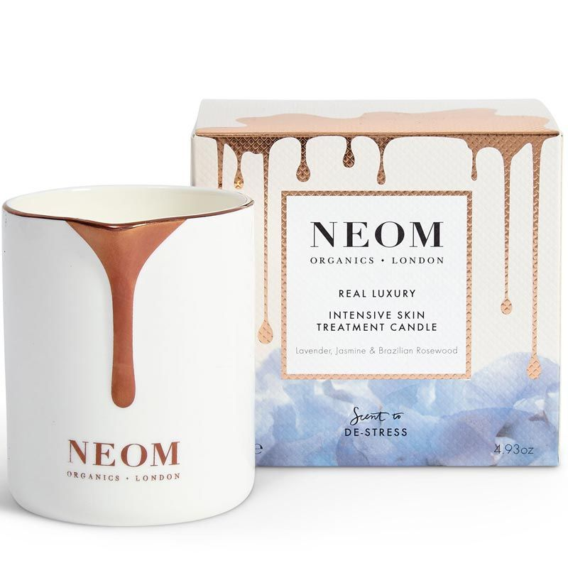 NEOM Skin Treatment Candle - Real Luxury  (140 g) with box