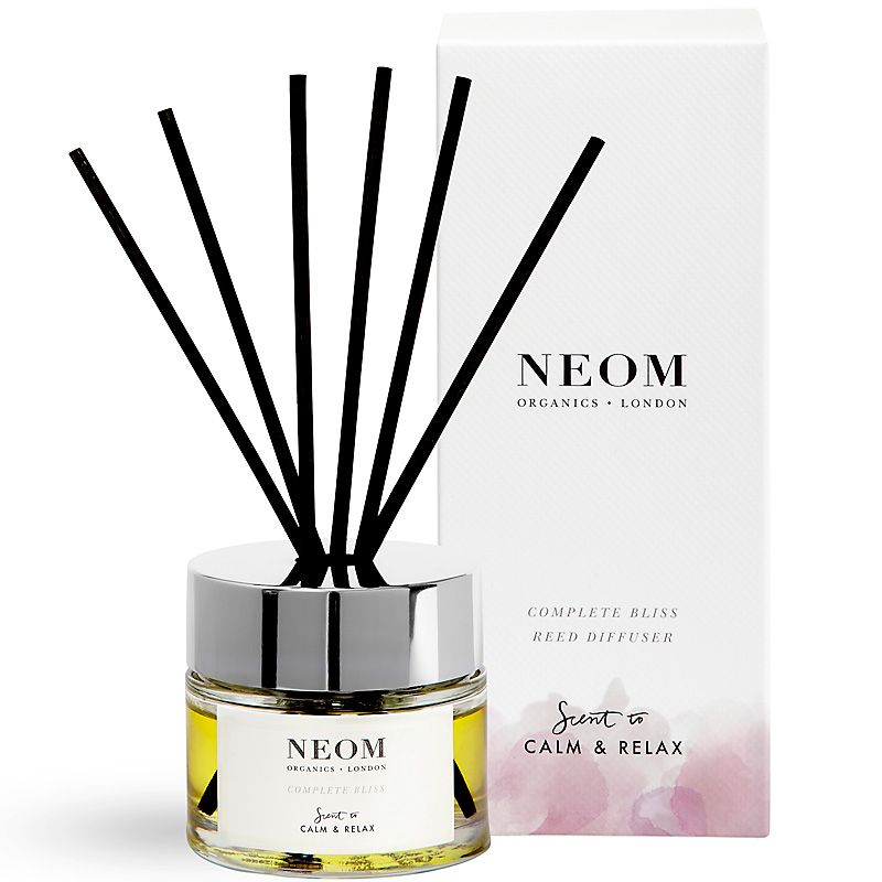 NEOM Organics Reed Diffuser - Complete Bliss (3.4 oz, Complete Diffuser) with box