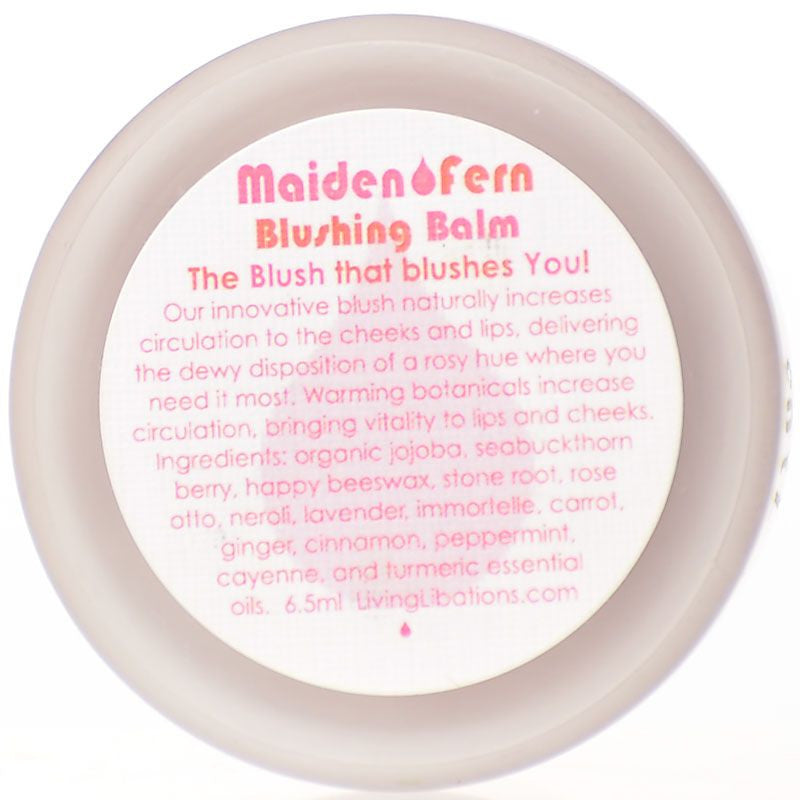 Living Libations Maiden Fern Blushing Balm (6.5 ml)