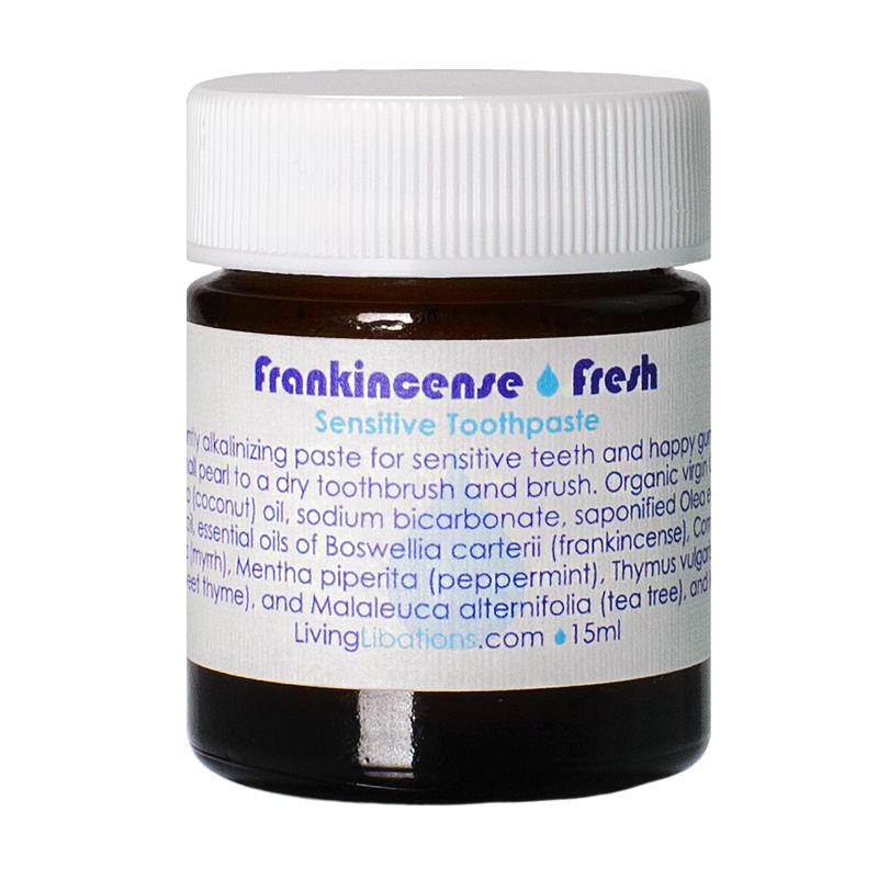 Living Libations Frankincense Fresh Truth Toothpaste 15 ml