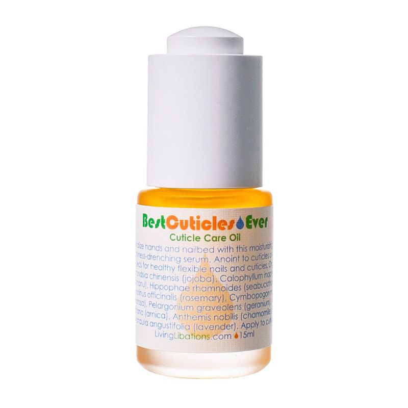 Living Libations Best Cuticles Ever Cuticle Care Oil 15 ml
