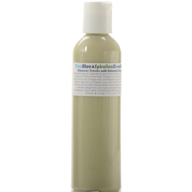 Living Libations True Blue Spirulina Conditioner (120 ml)