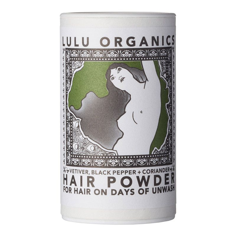 Lulu Organics Travel Sized Hair Powder (Vetiver & Black Pepper & Coriander, 1 oz)