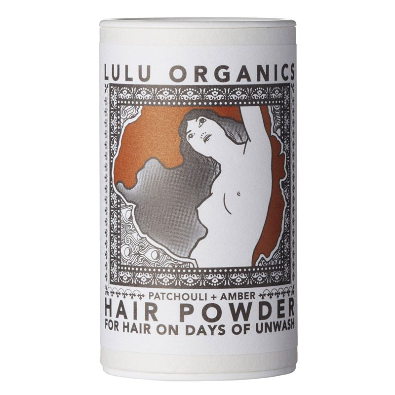 Lulu Organics Travel Sized Hair Powder (Patchouli & Amber, 1 oz)