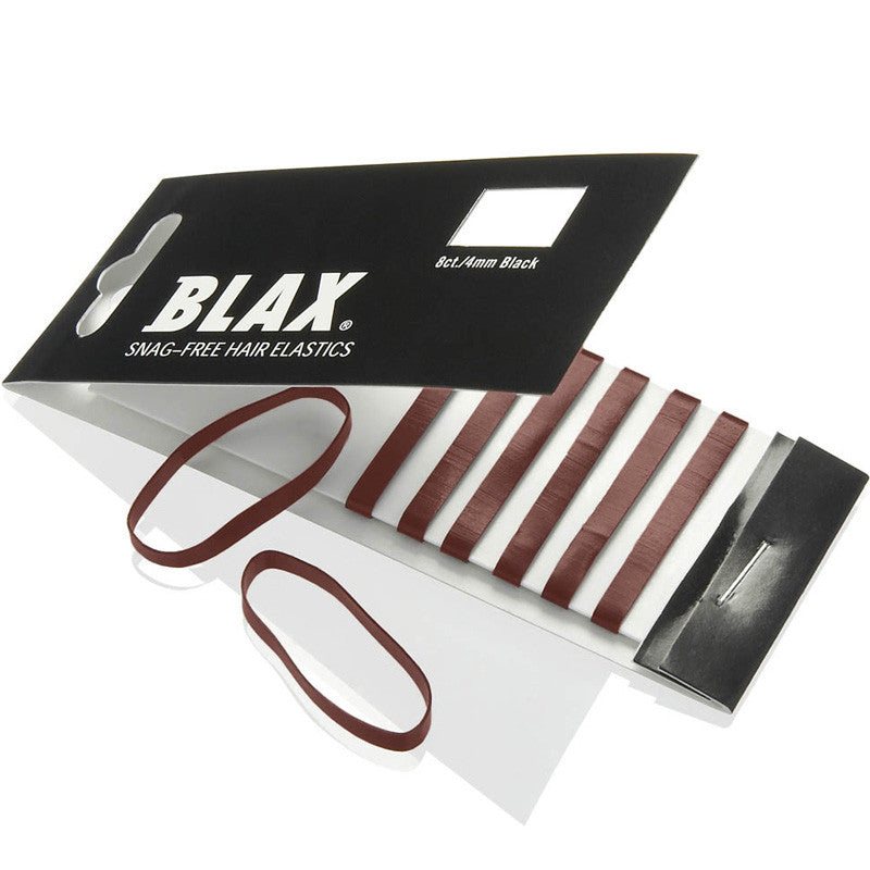 BLAX Snag Free Brown Hair Elastics