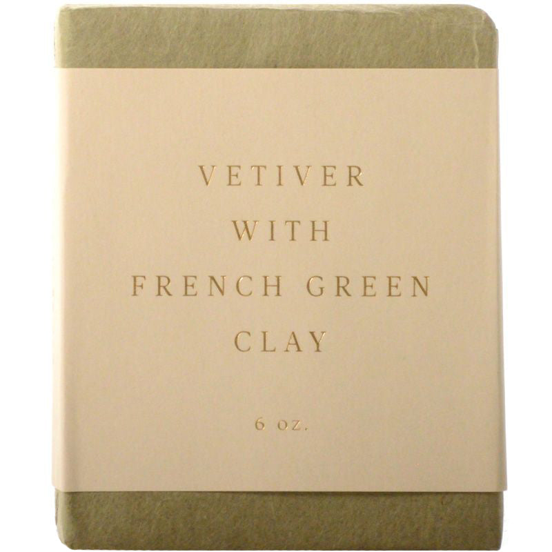 Saipua Soaps Vetiver with French Green Clay Soap