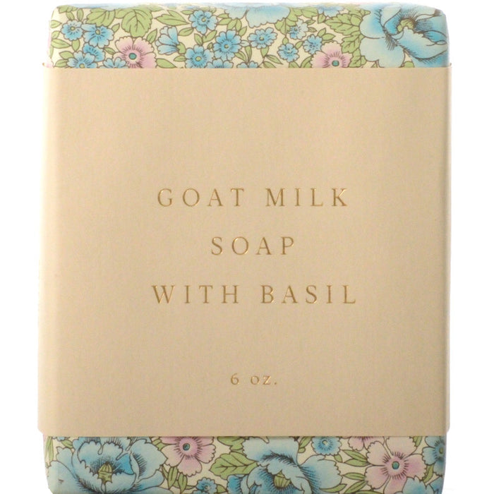 Saipua Soaps Goat Milk Soap with Basil