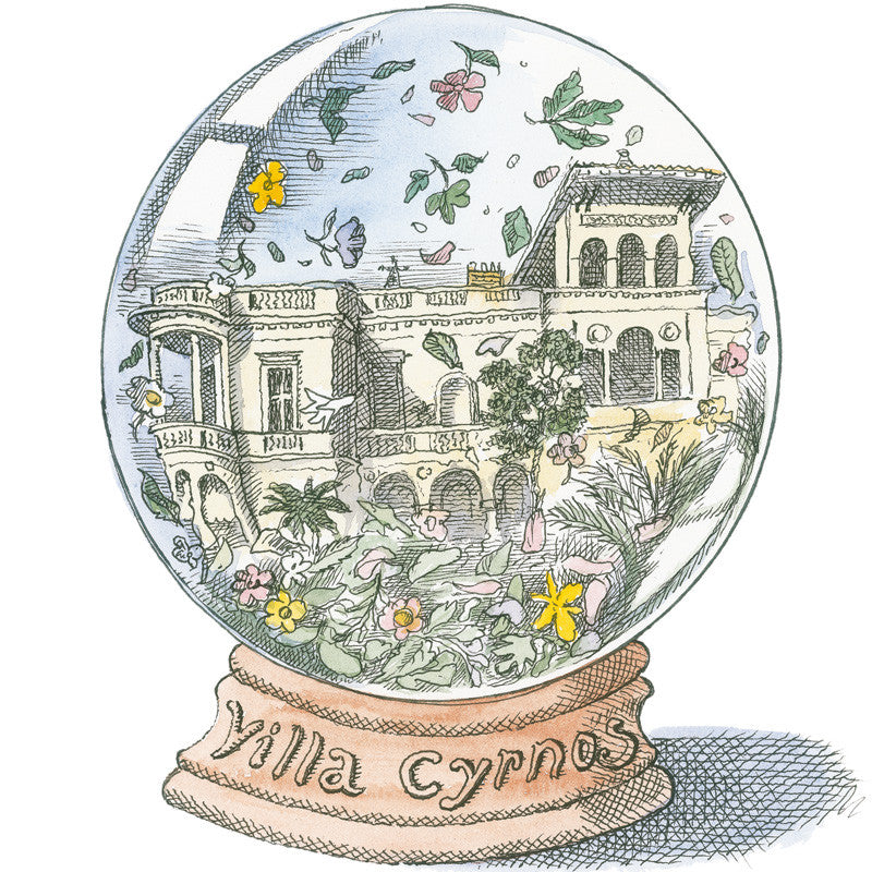 Cire Trudon Cyrnos Candle artwork by British Painter and Illustrator Lawrence Mynott