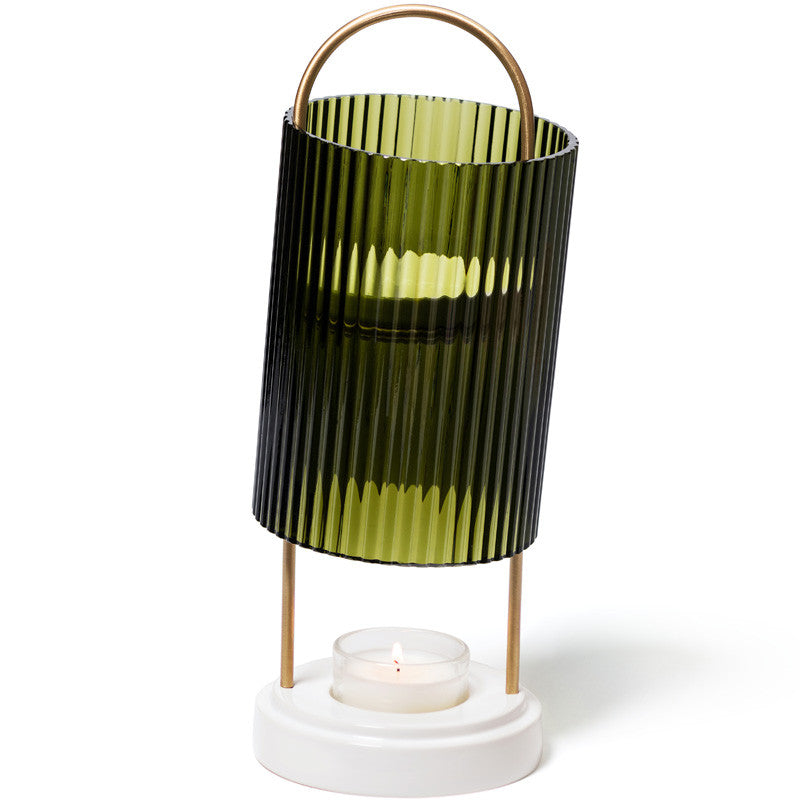 Cire Trudon La Promeneuse - Wax Diffuser showing tea light
