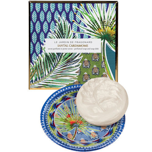 Santal Cardamome Dish & Perfumed Soap