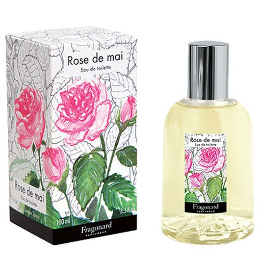 Fragonard Parfumeur Rose de Mai Eau de Toilette (100 ml) with box