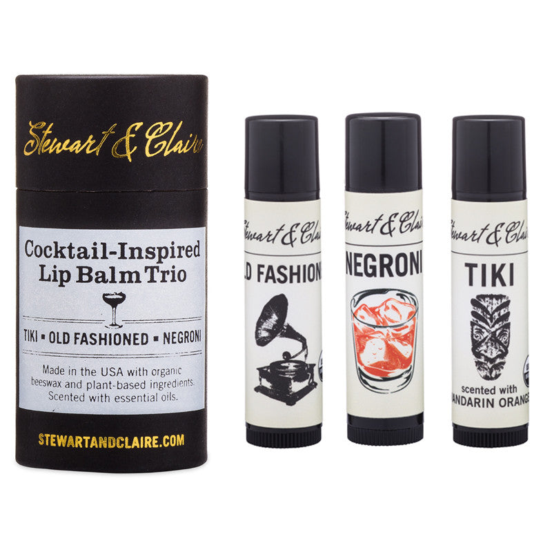 Cocktail-Inspired Lip Balm Trio