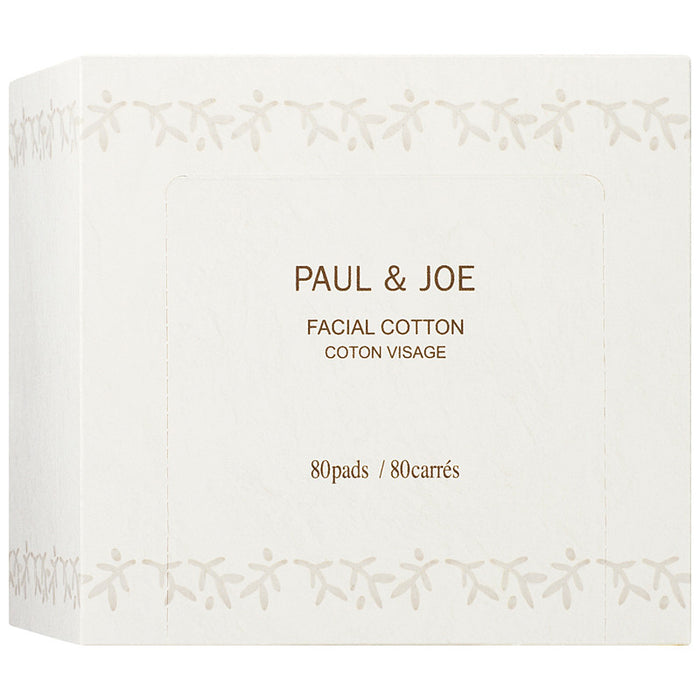 Paul & Joe Facial Cotton 80 Pads