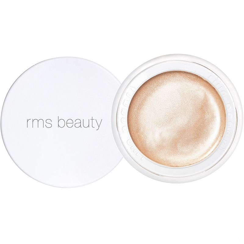 RMS Beauty Magic Luminizer open jar with lid