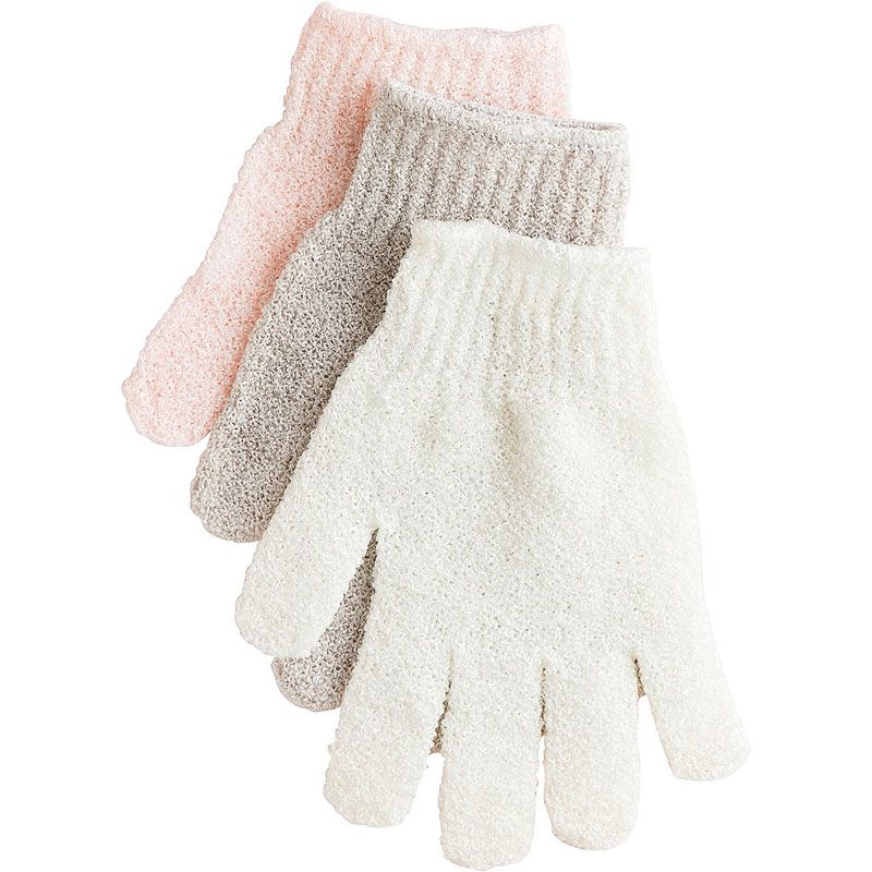 Urban Spa The Get-Glowing Exfoliating Gloves (assorted colors, 1 pair)