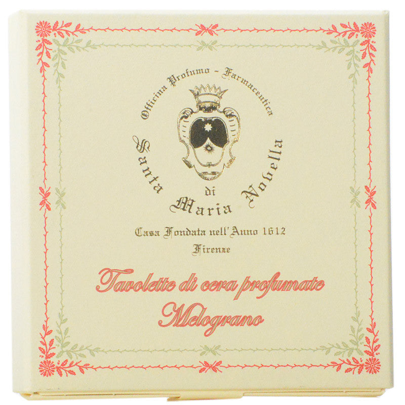 Santa Maria Novella Melograno Scented Wax Tablets box