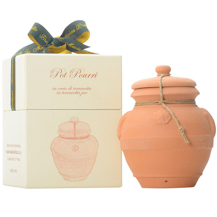 Santa Maria Novella Pot Pourri in Terracotta Jar