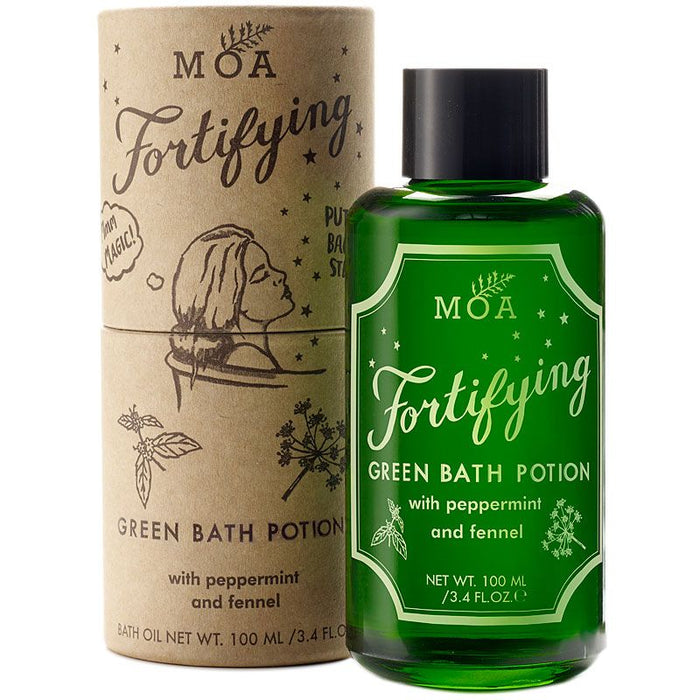 MOA Fortifying Green Bath Potion (100 ml) with box