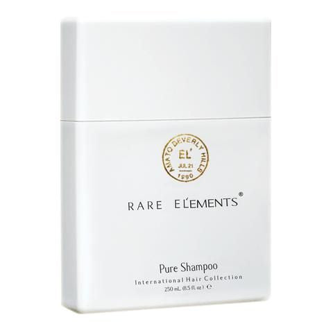 Rare Elements Pure Shampoo angled