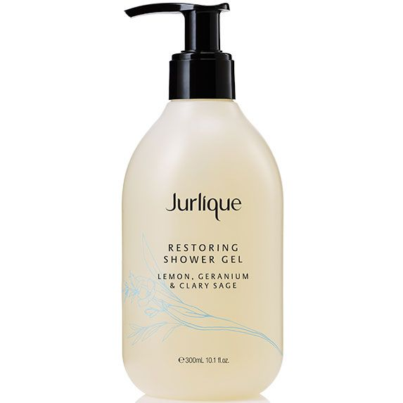Jurlique Restoring Shower Gel - Lemon, Geranium & Clary Sage (300 ml)