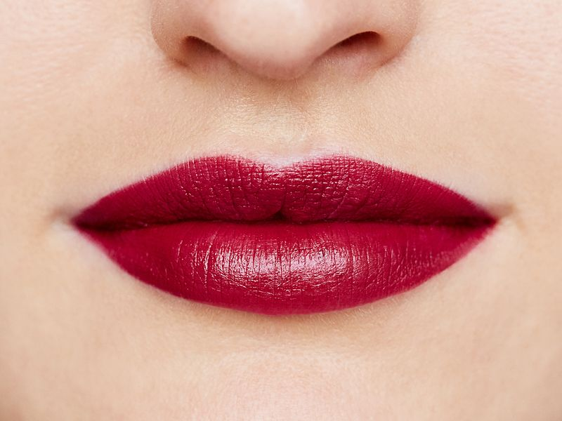 RMS Beauty Wild With Desire Lipstick  - Russian Roulette model
