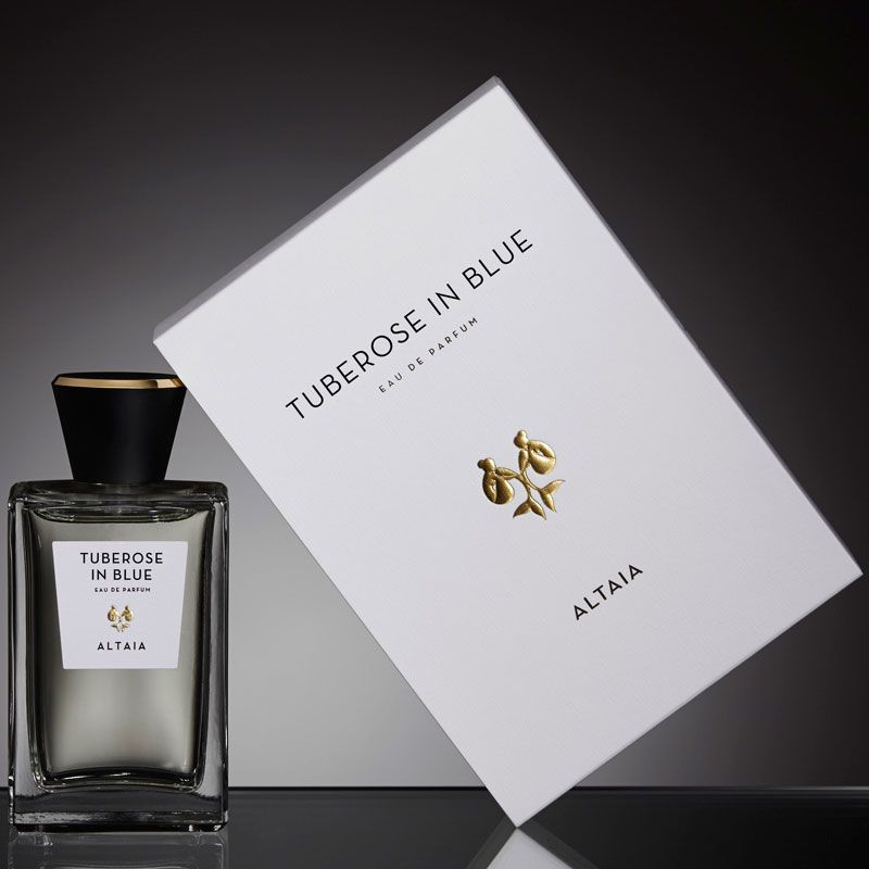 ALTAIA Tuberose in Blue Eau de Parfum and box