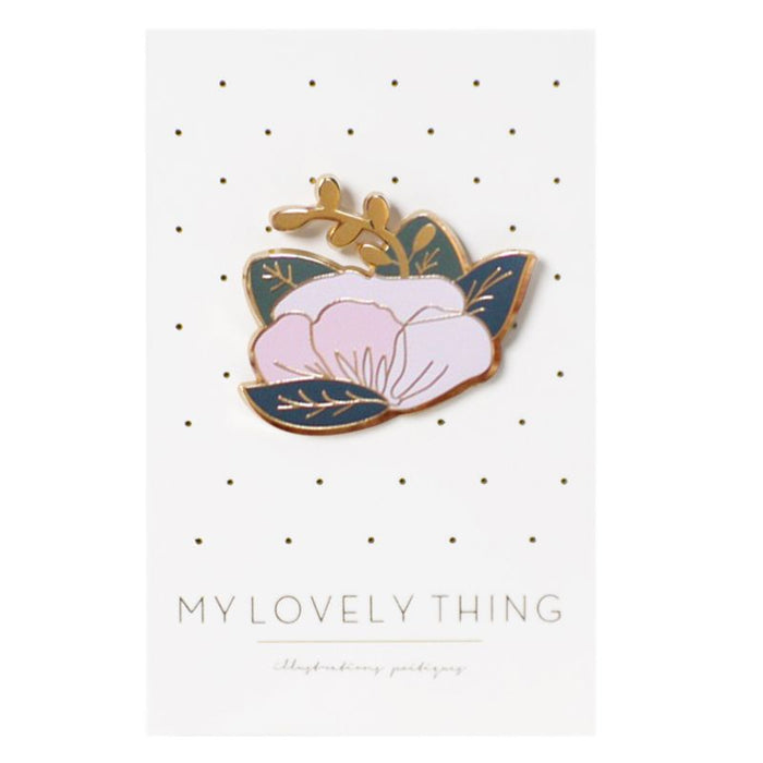 My Lovely Thing Flower Pin (1 pc)