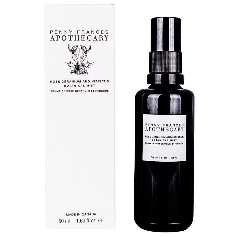 Penny Frances Apothecary Rose Geranium & Hibiscus Botanical Mist with box