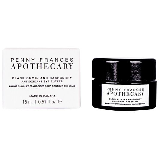 Penny Frances Apothecary Black Cumin & Black Raspberry Antioxidant Eye Butter with box