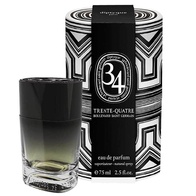 Diptyque 34 Boulevard Saint Germain Eau de Parfum (75 ml) with box