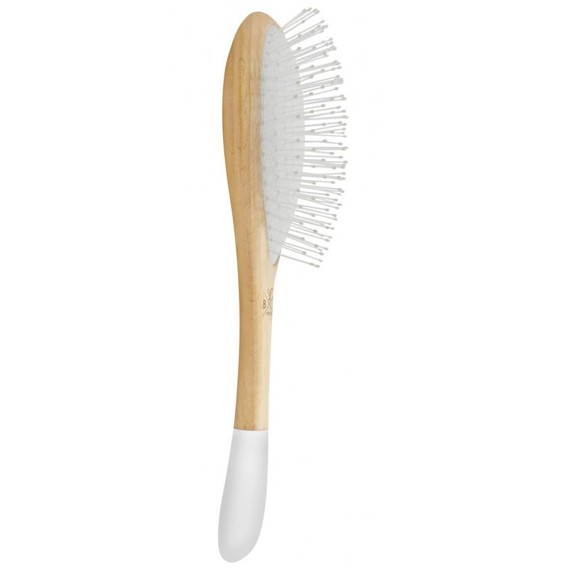 Bachca Detangling Brush - Nylon Bristles - side view