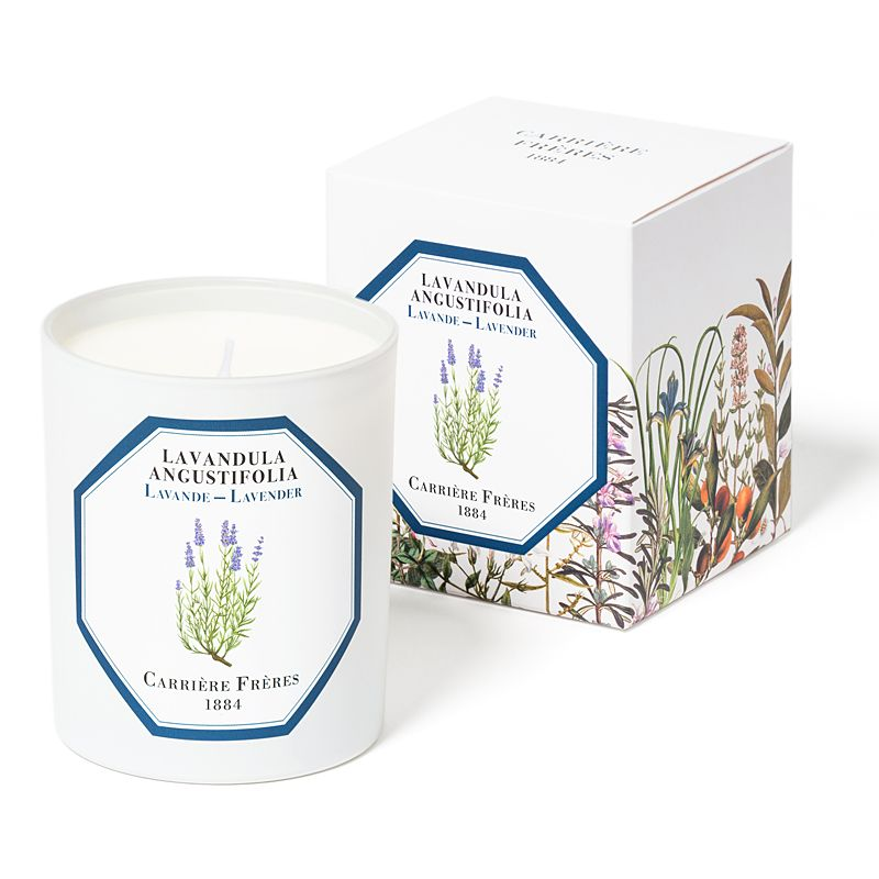 Carriere Freres Lavender Candle with box